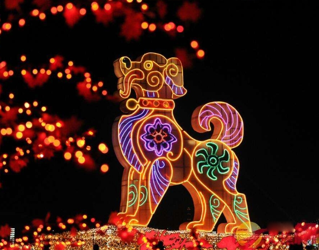 景区灯会传统彩灯造型